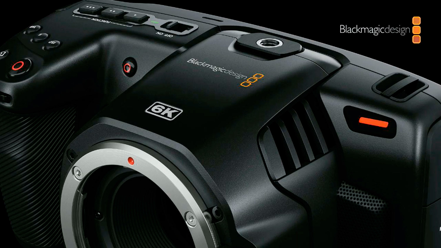 Портативная кинокамера Blackmagic Design Pocket Cinema Camera 6K EF