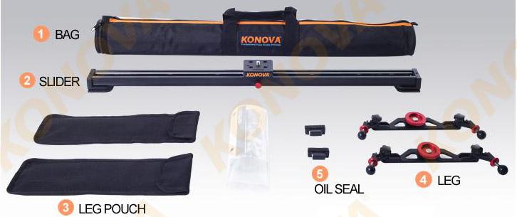 Комплектация konova k2 48 см